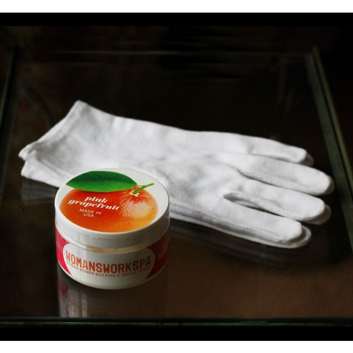 Nighttime Hand Care Kit with Gloves & Hand Cream