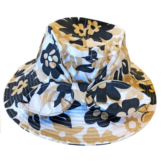 Girlyflage Hat with Tie