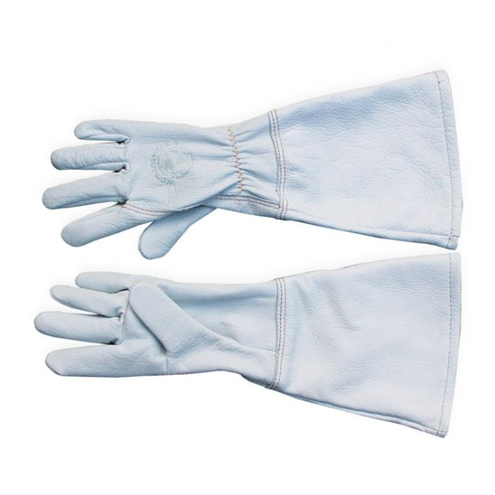 Goatskin Gauntlet Gloves - Made in the USA