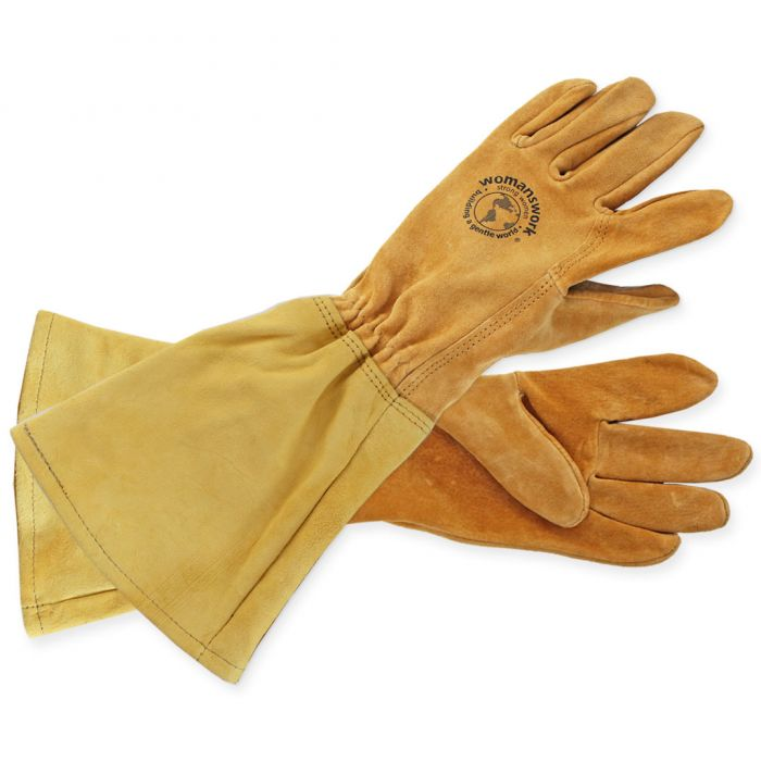 All Leather Gauntlet Glove - Made in USA
