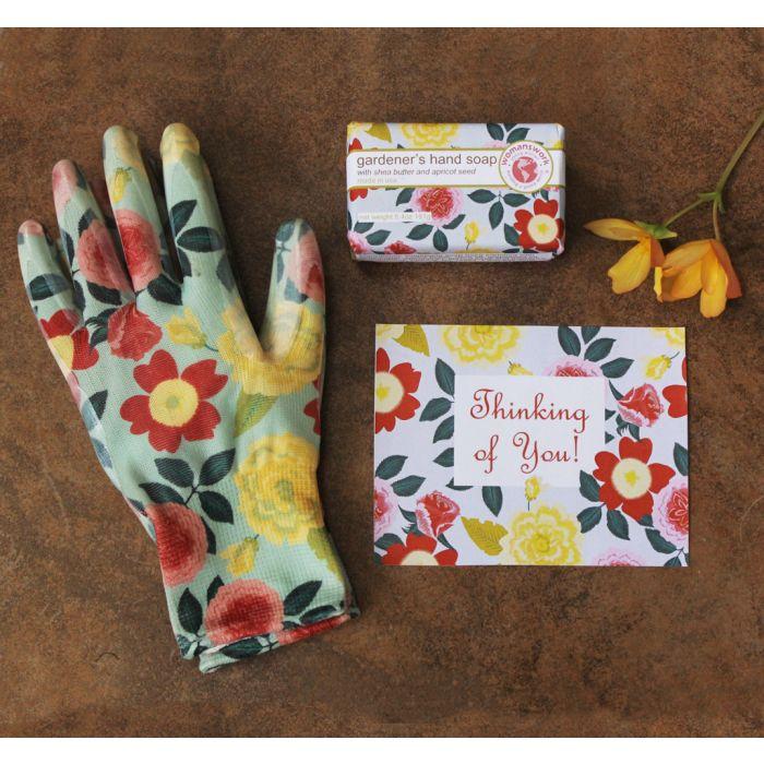 Heirloom Garden Weeder Glove Spa Set