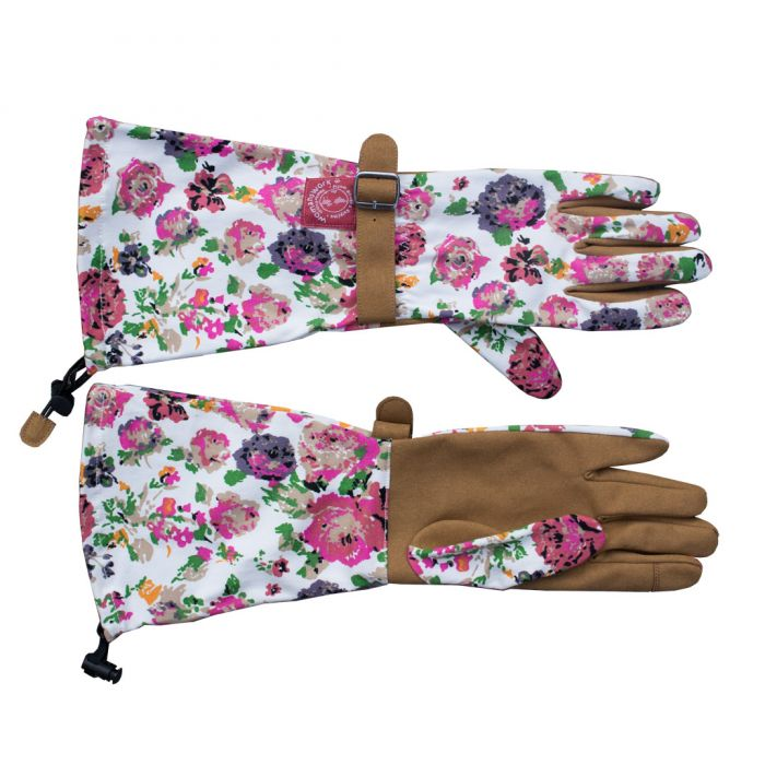 Floral Arm Saver Gloves