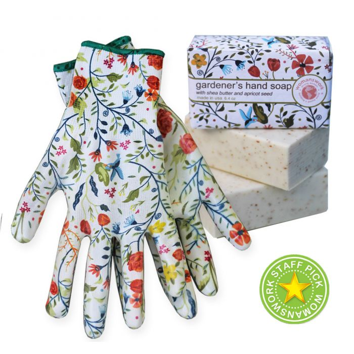 Weeder Glove Spa Gift Set