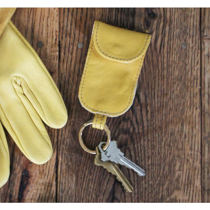 Upcycled Key Fob - Made in the USA