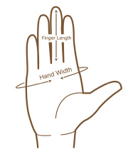 glove size